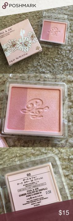 Paul and joe cheek color #02 (refill) THIS IS REFILL!!!  Brand new. Never used. Paul & Joe Makeup Blush