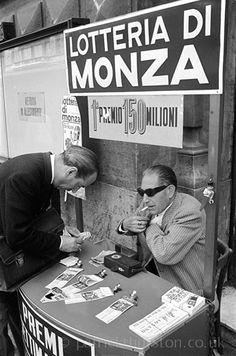 Lottery Seller, Rome 1964
