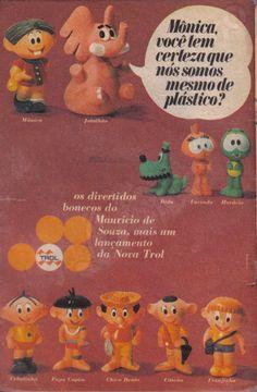 Bonecos Turma da Mônica (1969)