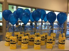 15 New Ideas For Basket Ball Team Party Ideas Banquet Centerpieces Swim Teacher Gifts, Swim Team Gifts, Swim Team Party, Sports Party, Banquet Centerpieces, Sports Centerpieces, Gifts For Swimmers, Senior Night Gifts, Ball Decorations