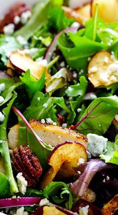 ~Fuji Apple Chicken Salad (Panera Copycat)