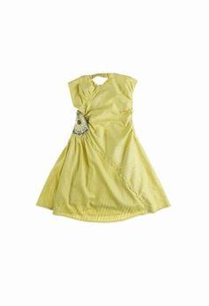 """Kleid """"Chabo"""", Morgan - Sommerkleider 2007: die Trends der Saison - Mit seinem glänzenden Stickerei-Einsatz in der Taille ist dieses tief ausgeschnittene Bustierkleid einfach perfekt um auf mondänen Sommerpartys den Star zu spielen. Die Hollywoodreife..."""