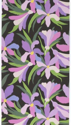 Wallpaper, Paul Poiret, 1907-17 ~ Bluets