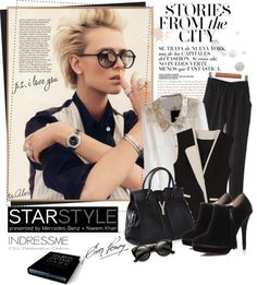 """Star Style"" by ts-alex ❤ liked on Polyvore"