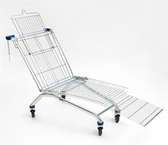 Lounge-cart (THIS IS UPCYCLING!!!) **** carrito-reposera (ESTO SÍ ES RECICLAR!!!)