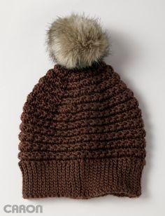Yarnspirations.com - Caron 5 Star Beanie - Patterns | Yarnspirations | Crochet | Free pattern