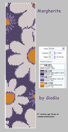 http://giogioandco.blogspot.com/2011/03/margherite.html