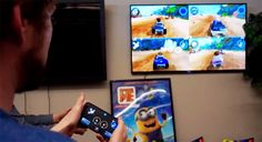 So you want to play games on your Android TV set, but you'd rather not shell out for a gamepad?