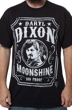 Darryl Dixon Moonshine T-Shirt
