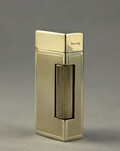 Fabulous Swiss Made Solid Silver Small Size Dunhill Automatic Rollalite Lighter | eBay