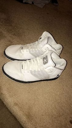white nike jordan s mens size 10 used  fashion  clothing  shoes   accessories   002accb8f