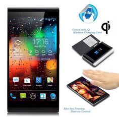 KingZone K1 Turbo Phone - 5.5 Inch 1920x1080 OGS Screen, MTK6592 Octa Core 1.7GHz CPU, Android 4.3, Qi Wireless Charging Case  Bow To The KingZone K1 Turbo Phone With An Octa Core CPU  Step aside and make way for the king of phones as the latest K1 Turbo model from KingZone has made its way o...