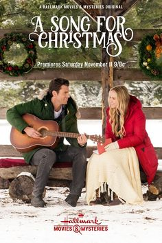 Its a Wonderful Movie - Your Guide to Family and Christmas Movies on TV: A Song for Christmas - a Hallmark Movies & Mysteries Original Christmas Movie starring Becca Tobin & Kevin McGarry! Hallmark Weihnachtsfilme, Films Hallmark, Hallmark Holiday Movies, Family Christmas Movies, Hallmark Channel, Family Movies, Christmas 2017, Christmas Tree, Film Romance