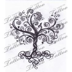 Tree of Life Symbol Tattoo |