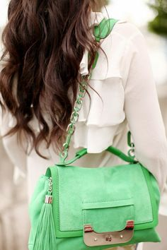 definitely want this color bag for SPRING!
