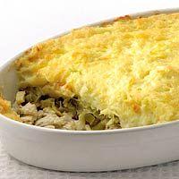 Recept - Ovenschotel met vis en aardappelpuree - Allerhande