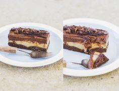 Pheebsfoods: Peanut Butter Chocolate Mousse Slice. No sugar!!!