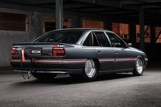 The Holden VN SS Commodore is a cult classic, and Brad Phillips's blown Chev small-block example is the best of the breed Australian Muscle Cars, Aussie Muscle Cars, Custom Muscle Cars, Custom Cars, Jet Ski Fishing, Holden Muscle Cars, Car Paint Jobs, Yorky, Holden Commodore