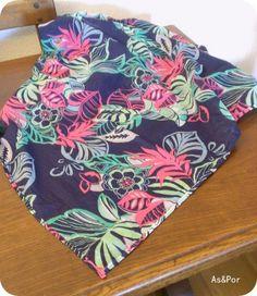 Pañuelo de flores