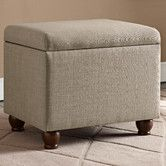 Found it at Wayfair - Upholstered Storage Cube Ottoman