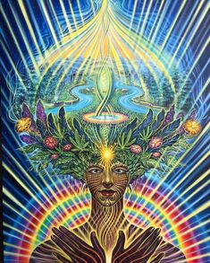 The Traditional Plant Dieta Developing Relationships with Plant Spirits Whereas ayahuasca forms the foundation of the indigenous plant medicine. Art Visionnaire, Acid Art, Psy Art, Mystique, Rainbow Art, Visionary Art, Psychedelic Art, Trippy, Les Oeuvres