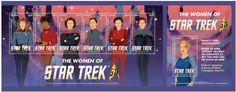 NEW STAR TREK STAMPS Source: The Trek Collective