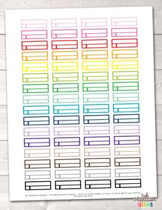 Reminder Boxes Printable Planner Stickers – Erin Bradley/Ink Obsession Designs