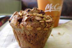 McDonald's Attempts Bakery Items: A 420 Calorie Mini Scone and A Multi-Grain Muffin