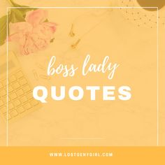 Some of my favorite motivational and inspirational girl boss quotes because who doesn't like inspirational quotes, and these are kind of awesome. Boss Lady Quotes, Girl Quotes, Woman Quotes, Inspirational Quotes For Girls, The Girl Who, Etsy Store, Motivational, Creative, Pretty