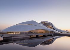 Contemporary architecture | Beijing studio MAD has completed an opera house in the Chinese city of Harbin | www.bocadolobo.com | #contemporaryarchitecture #modernarchitecture