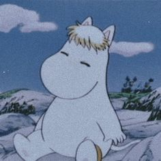 Moomin, Calming Images, Light Blue Aesthetic, Cute Love Memes, Cartoon Icons, Vintage Cartoon, Crybaby, Aesthetic Iphone Wallpaper, Colorful Wallpaper
