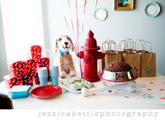 dog themed birthday party ideas | on Kara's Party Ideas ; this party is actually a puppy themed party ...