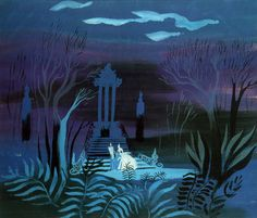 mary blaire | ... And Flutterings, Concept art by Mary Blair for Walt Disney's
