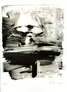Light, Monotype, 25/20 cm, 2012, by Hagit Shahal