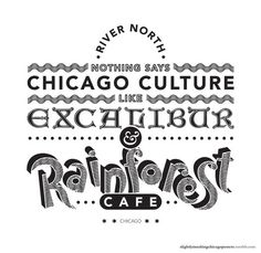 Slightly Insulting Chicago Neighborhood Posters by RC Jones, via Behance