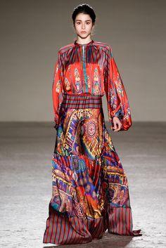 Stella Jean - Fall 2015 Ready-to-Wear - Look 5 of 31 #print #pattern #fashion