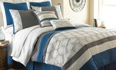 8-Piece Embellished/Embroidered Comforter Sets Deal of the Day | Groupon