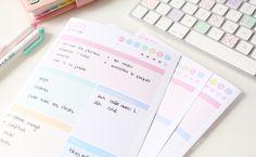 Plannings pastel à télécharger pour planifier votre journée ou votre semaine