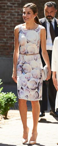 Queen Letizia attends the Annual Meeting of the Board of the Student Residence on June 14, 2017 in Madrid, Spain.