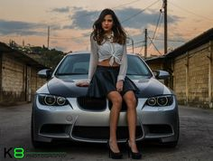 bmw luxury car for girls Sexy Cars, Hot Cars, Woman In Car, Mustang Girl, Ford Mustang, Bmw Girl, Bmw Performance, Pin Up, Bmw Love