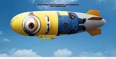 Funny minion rocket hd