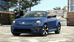 2014 Volkswagen Beetle Convertible Blue