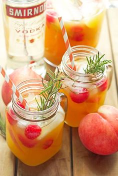 Peach Nectar Punch | Grandbaby Cakes #ad