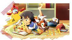 Aloha Pokemon, Ash Pokemon Team, Pokemon Ash Ketchum, Pokemon Alola, Pokemon Comics, Cute Pokemon, Anime Comics, Pokemon Stuff, Pikachu