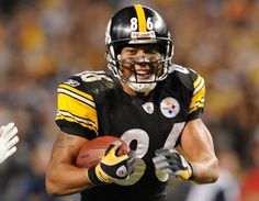 Hines Ward - loved by Steeler fans everywhere.  Gonna miss that grin!