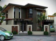 Maison moderne... ...