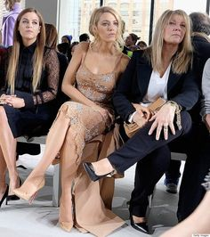 Blake Lively Asked To Uncross Her Legs At Michael Kors Fashion Show