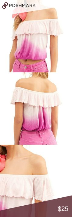 NWT GAP Girl/'s Short Sleeve Pleated Top Pink Large /& XL Free Shipping MSRP$25