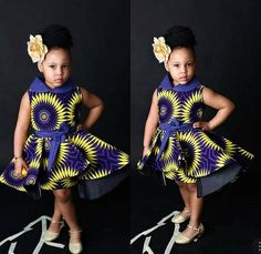 Trending and best collection of girl kid's fashion for 2020 - Lipglouse Baby African Clothes, African Dresses For Kids, Latest African Fashion Dresses, African Print Fashion, African Wear, African Children, African Prints, African Style, Toddler Flower Girl Dresses