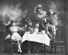 Alice in Wonderland at the Vaudeville Theatre in London, 1900